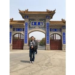 揚州高旻寺大門